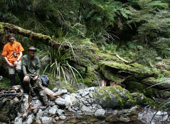 Harald Bettin hunting New Zealand